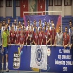 DOMINATION OF AYDIN UNIVERSITY'S TEAMS AT TURKISH UNIVERSITIES SUPER LEAGUE !